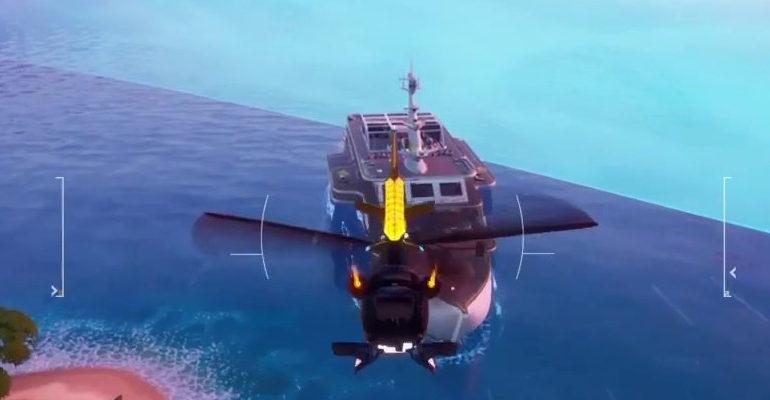 Бухта кораблекрушений Фортнайт