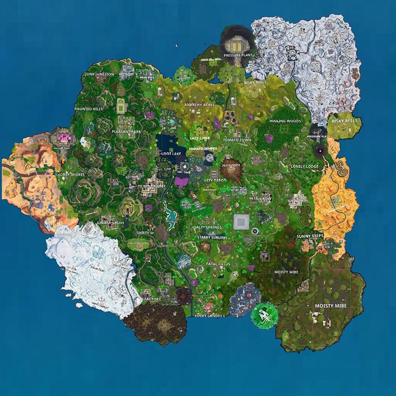 Изменения в новой карте