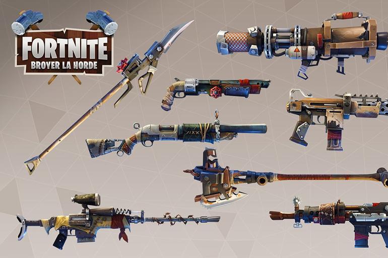 Оружие в Fortnite