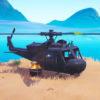 Карта где находятся все вертолеты в Fortnite