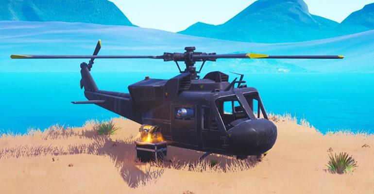 Вертолет Фортнайт