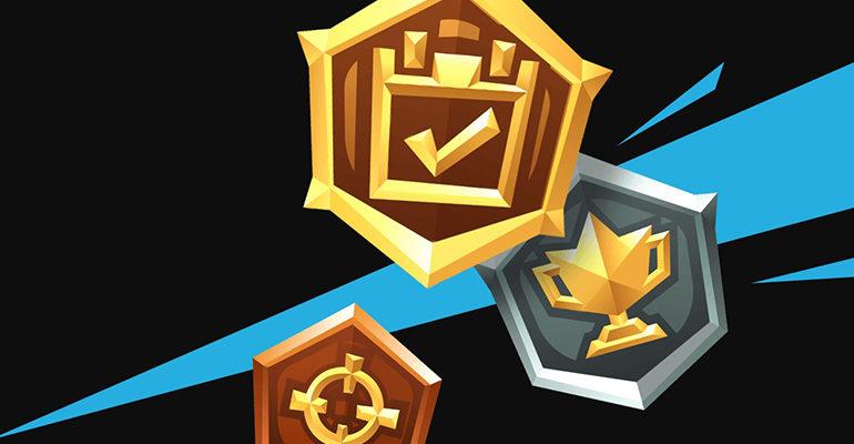 Медали Фортнайт