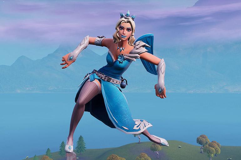 Фортнайт танцы