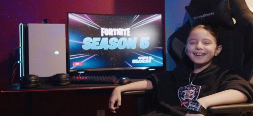 8-летний киберспортсмен стал частью команды Team 33