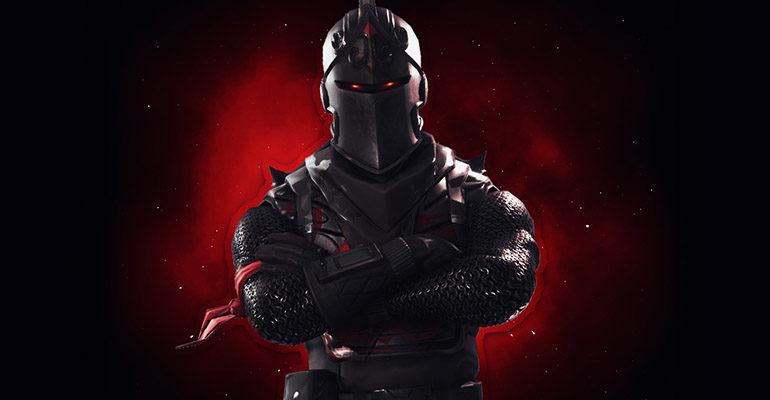 Черный рыцарь Фортнайт