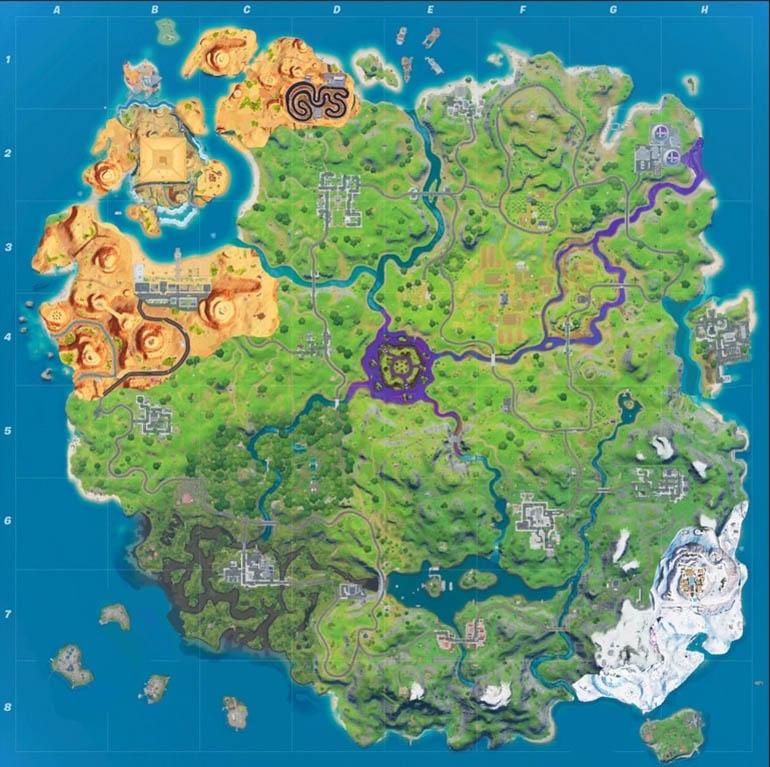 Карта 17 сезона игры