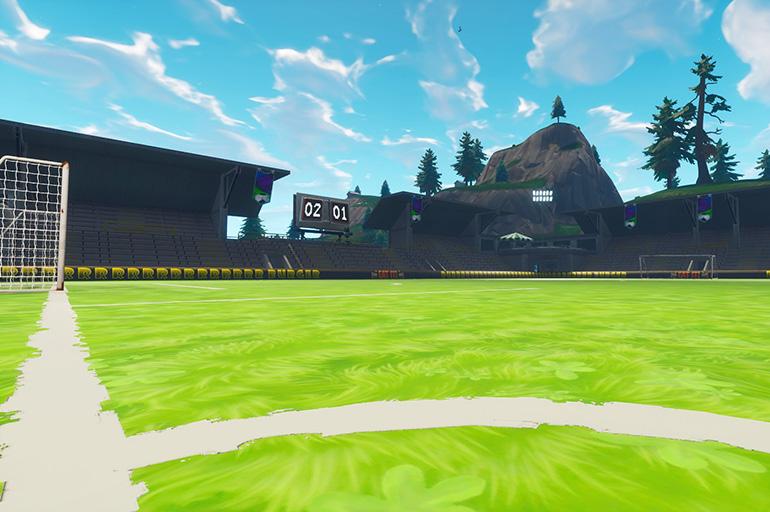 стадион полукруглой формы